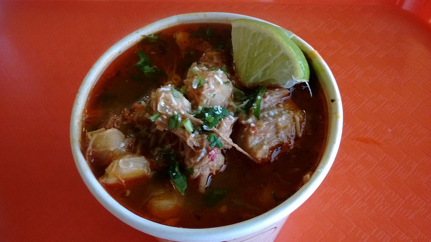 Bay Vista Pozole Rojo Soup